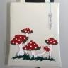 Chelsea Traveller Bag Mushrooms