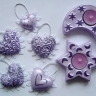 Set decoratiuni Light purple spirit