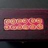 Cutiuta pentru bijuterii indian red