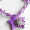 Colier Purple Star