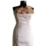White Creme-Flower Dress